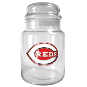 Cincinnati Reds 31oz Glass Candy Jar
