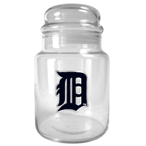 Detroit Tigers 31oz Glass Candy Jar