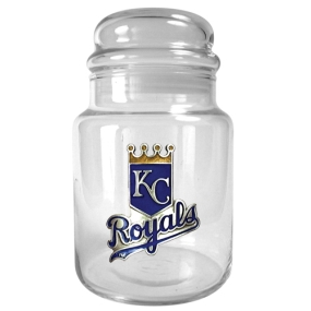 Kansas City Royals 31oz Glass Candy Jar