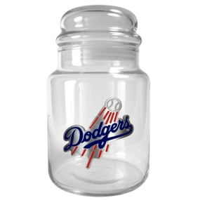 Los Angeles Dodgers 31oz Glass Candy Jar