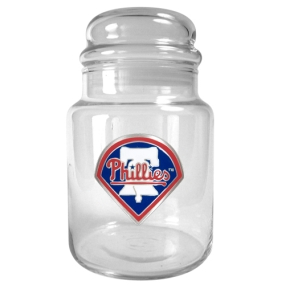 Philadelphia Phillies 31oz Glass Candy Jar