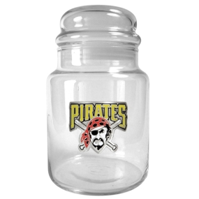 Pittsburgh Pirates 31oz Glass Candy Jar