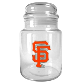 San Francisco Giants 31oz Glass Candy Jar