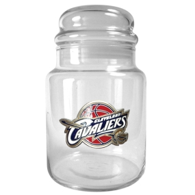 Cleveland Cavaliers 31oz Glass Candy Jar