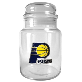 Indiana Pacers 31oz Glass Candy Jar