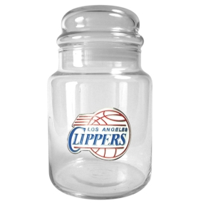 Los Angeles Clippers 31oz Glass Candy Jar