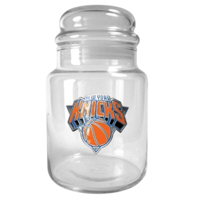 New York Knicks 31oz Glass Candy Jar