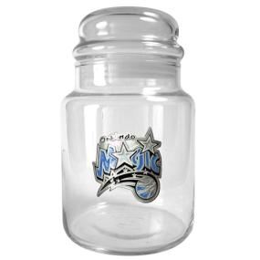 Orlando Magic 31oz Glass Candy Jar