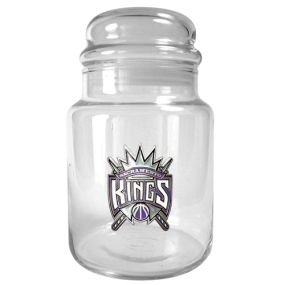 Sacramento Kings 31oz Glass Candy Jar