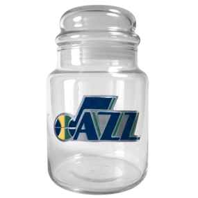 Utah Jazz 31oz Glass Candy Jar