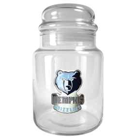 Memphis Grizzlies 31oz Glass Candy Jar