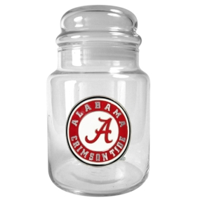 Alabama Crimson Tide 31oz Glass Candy Jar