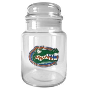 Florida Gators 31oz Glass Candy Jar