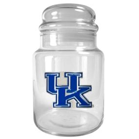 Kentucky Wildcats 31oz Glass Candy Jar