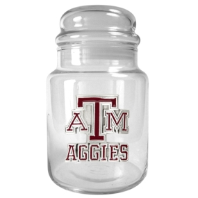 Texas A&M Aggies 31oz Glass Candy Jar