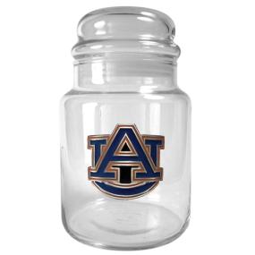 Auburn Tigers 31oz Glass Candy Jar