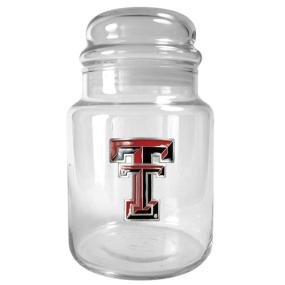 Texas Tech Red Raiders 31oz Glass Candy Jar
