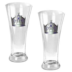 Los Angeles Kings 2pc 19oz Pilsner Glass Set