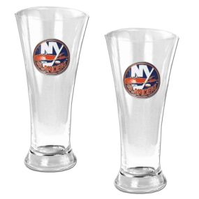 New York Islanders 2pc 19oz Pilsner Glass Set