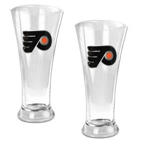 Philadelphia Flyers 2pc 19oz Pilsner Glass Set