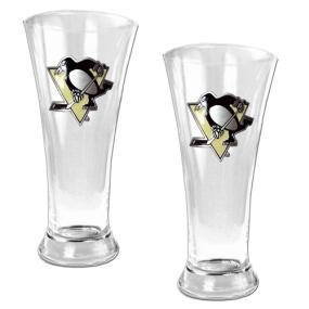 Pittsburgh Penguins 2pc 19oz Pilsner Glass Set