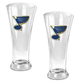 St. Louis Blues 2pc 19oz Pilsner Glass Set