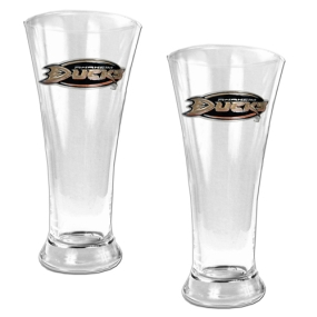 Anaheim Ducks 2pc 19oz Pilsner Glass Set