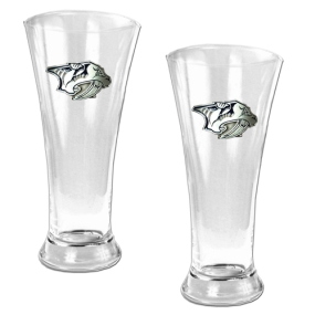 Nashville Predators 2pc 19oz Pilsner Glass Set
