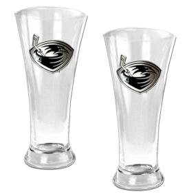 Atlanta Thrashers 2pc 19oz Pilsner Glass Set