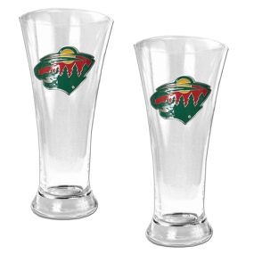 Minnesota Wild 2pc 19oz Pilsner Glass Set