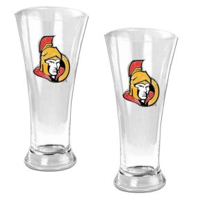Ottawa Senators 2pc 19oz Pilsner Glass Set