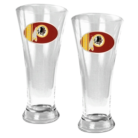 Washington Redskins 2pc 19oz Pilsner Glass Set