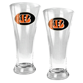 Cincinnati Bengals 2pc 19oz Pilsner Glass Set