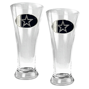 Dallas Cowboys 2pc 19oz Pilsner Glass Set
