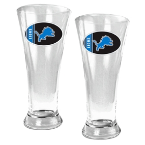Detroit Lions 2pc 19oz Pilsner Glass Set