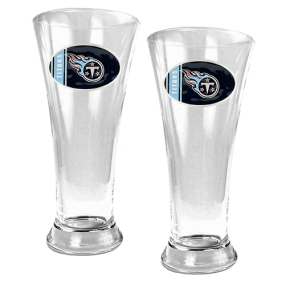 Tennessee Titans 2pc 19oz Pilsner Glass Set