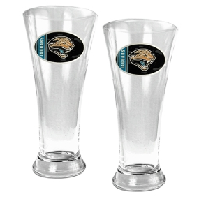 Jacksonville Jaguars 2pc 19oz Pilsner Glass Set
