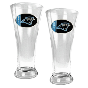 Carolina Panthers 2pc 19oz Pilsner Glass Set