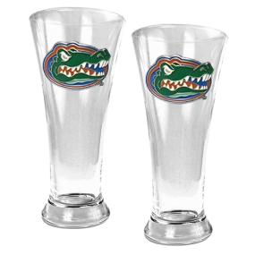 Florida Gators 2pc 19oz Pilsner Glass Set