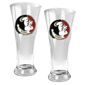 Florida State Seminoles 2pc 19oz Pilsner Glass Set