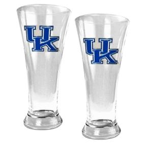 Kentucky Wildcats 2pc 19oz Pilsner Glass Set