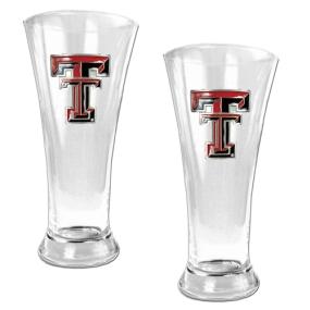 Texas Tech Red Raiders 2pc 19oz Pilsner Glass Set