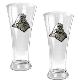 Purdue Boilermakers 2pc 19oz Pilsner Glass Set