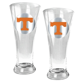 Tennessee Volunteers 2pc 19oz Pilsner Glass Set
