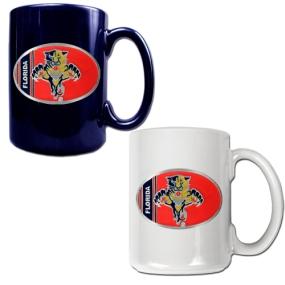 Florida Panthers 2pc 15oz Ceramic Mug Set