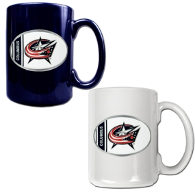Columbus Blue Jackets 2pc 15oz Ceramic Mug Set