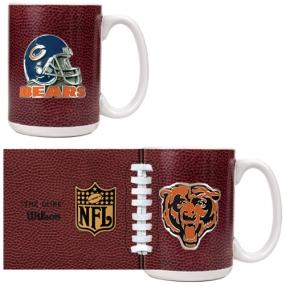 Chicago Bears 2pc GameBall Coffee Mug Set