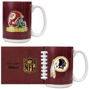 Washington Redskins 2pc GameBall Coffee Mug Set