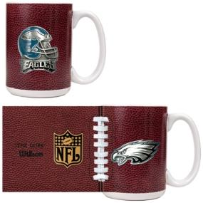Philadelphia Eagles 2pc GameBall Coffee Mug Set
