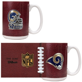 Saint Louis Rams 2pc GameBall Coffee Mug Set